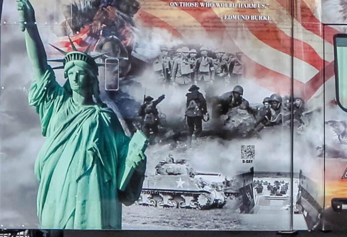 PAM Transport Statue of Liberty