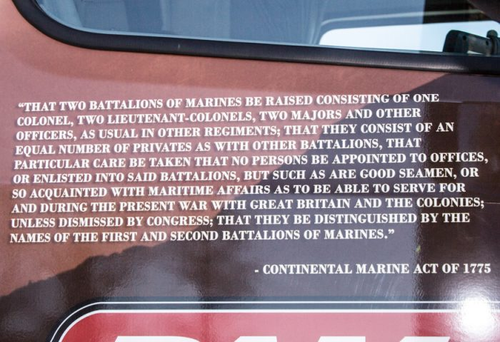 Continental Marine Act quote